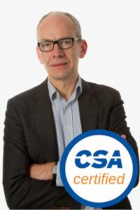 Peter van Eijk - CSA Certified